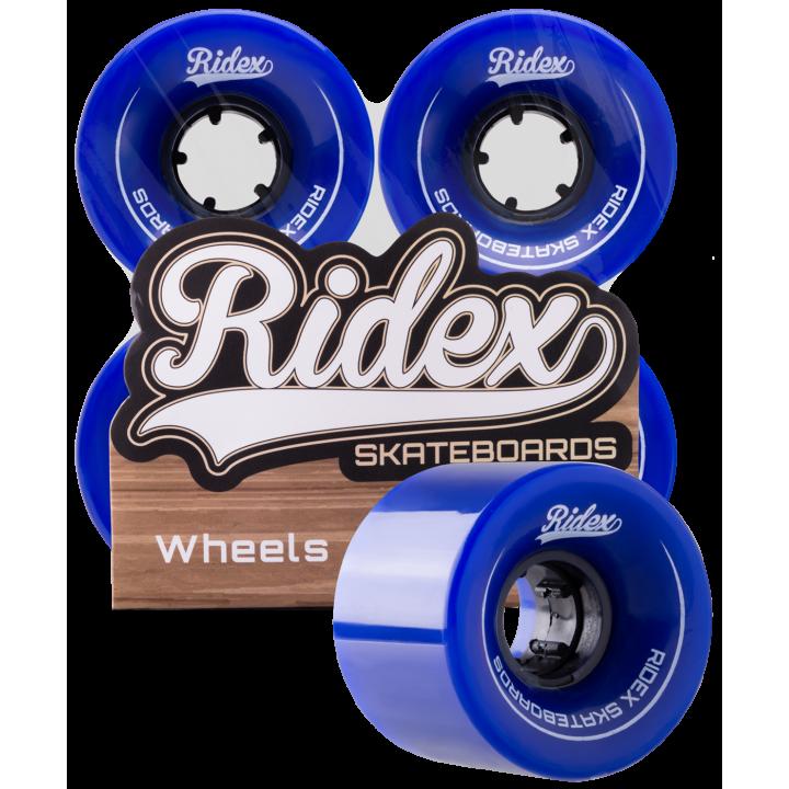 Комплект колес для круизера Ridex SB, темно-синий, 4 шт.