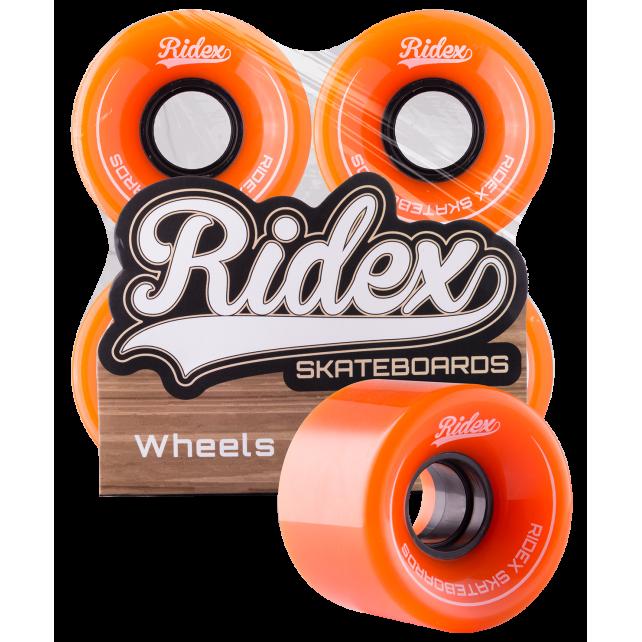 Комплект колес для круизера Ridex SB, оранжевый, 4 шт., 60 мм