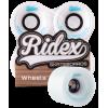 Комплект колес для круизера Ridex SB, белый, 4 шт.