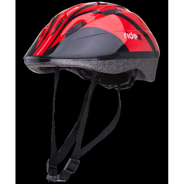Шлем защитный Ridex Rapid красный 53-58