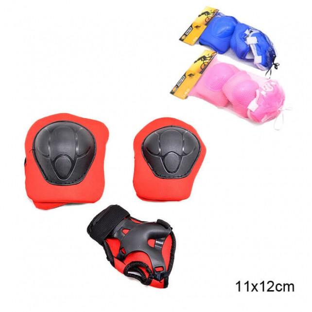 Комплект защиты Sports Helmit Maxi синий S