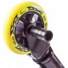 Трюковый самокат HAEVNER KRAFT BLACK EDITION черный-желтый