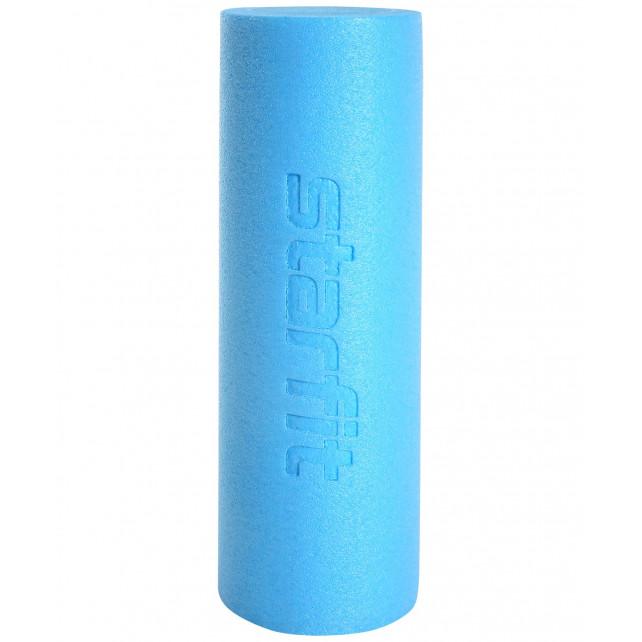 Ролик для йоги и пилатеса STARFIT Core FA-501 15x45 см, синий пастель