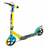 Городской самокат Ridex Rank 200 желтый/голубой