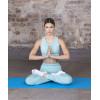 Коврик для йоги и фитнеса STARFIT Core FM-101 PVC, 0,3 см, 173x61 см, синий