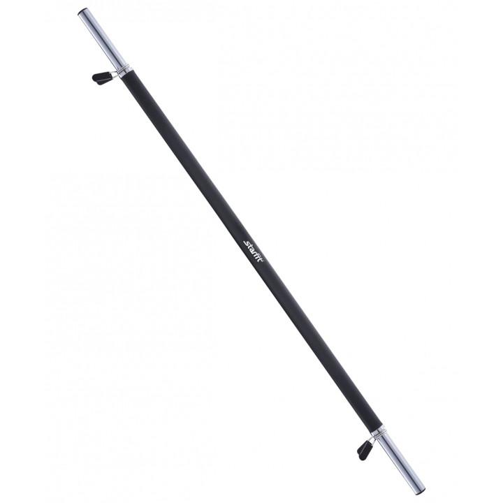 Гриф для штанги STARFIT BB-104 (d=25 мм) 120 см, прямой, с неопреновым покрытием