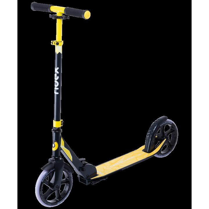 Городской самокат Ridex Marvellous 200 черный/желтый