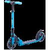 Городской самокат Ridex Atom на больших колёсах 180 мм синий для подростков и взрослых