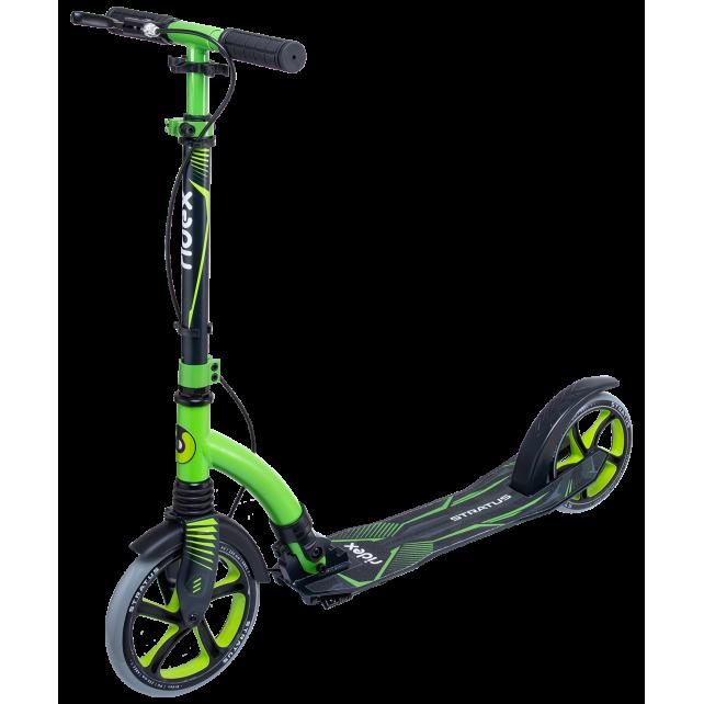 Городской самокат Ridex Stratus 230/200 зеленый