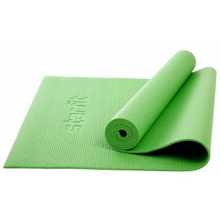 Коврик для йоги и фитнеса STARFIT Core FM-101 PVC, 0,5 см, 173x61 см, зеленый