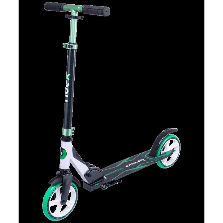 Городской самокат Ridex Epsilon 180 зеленый