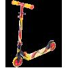 Городской самокат Ridex Flow 125 красный/желтый