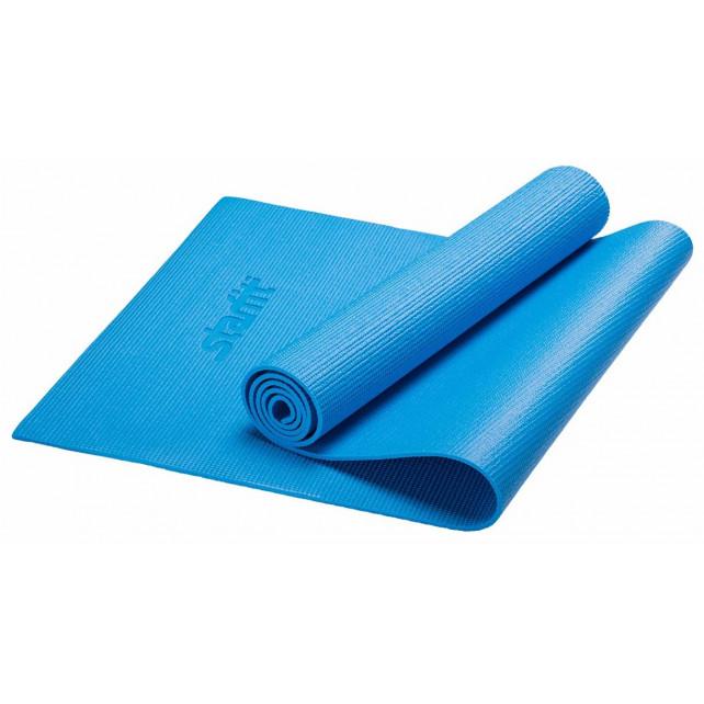 Коврик для йоги STARFIT FM-101 PVC 173x61x1,0 см, синий