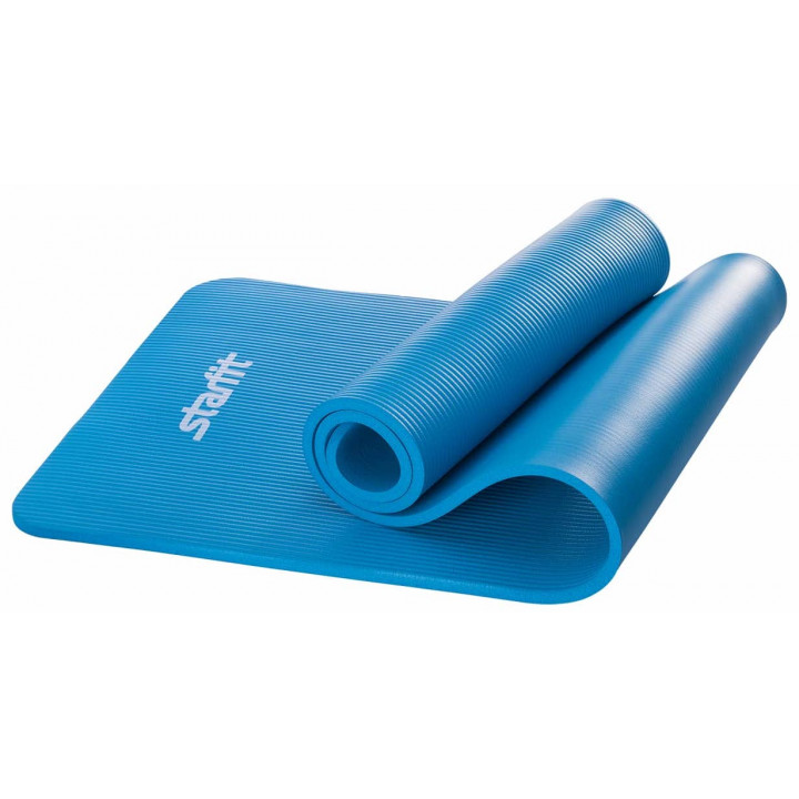 Коврик для йоги STARFIT FM-301 NBR 183x58x1,2 см, синий