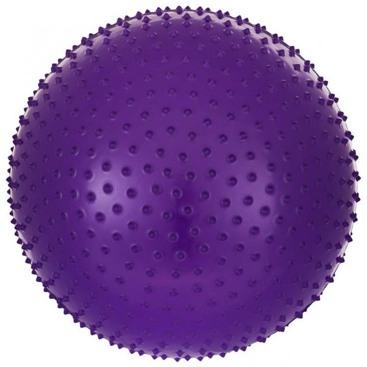 Мяч гимнастический массажный STARFIT GB-301 65 см, фиолетовый (антивзрыв)