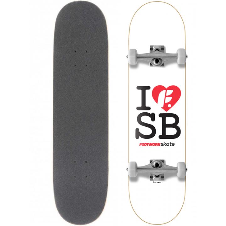 "Скейтборд Footwork I Love SB 31.5X8"" (81 X 21 см)"