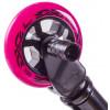 Трюковый самокат HAEVNER KRAFT BLACK EDITION черный-розовый