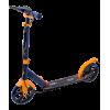 Городской самокат Ridex Rank 200 черный/оранжевый