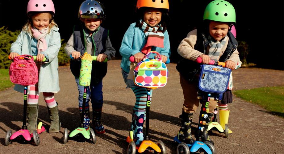 Купить трёхколёсный самокат для ребёнка
