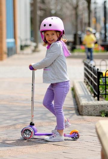 Детский трёхколёсный самокат Scooter